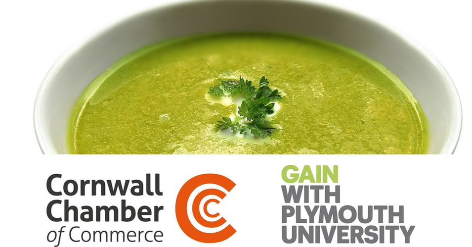 Cornwalls first SOUP event with Plymouth University & Cornwall Chamber